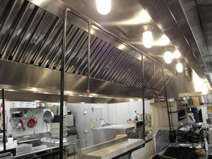 Small Commercial Kitchen Extractor Fans