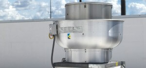 commercial kitchen rooftop grease containment system