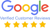 Verified Google Five Star Reviews